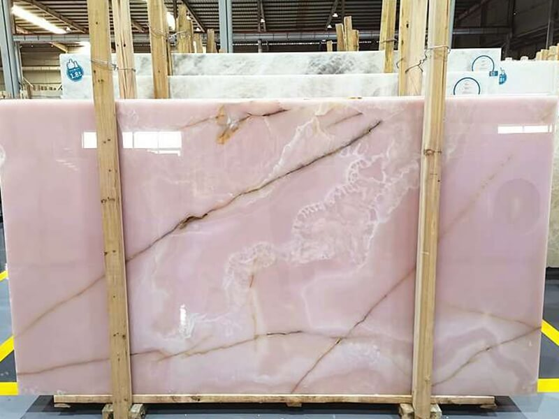 Purple Onyx Marble Table Tops