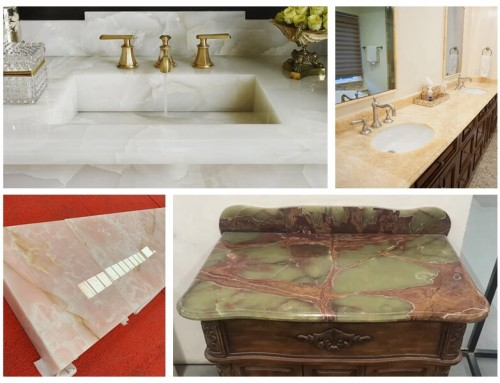 Onyx Bathroom Vanity Tops
