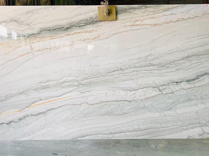 White Pearl Quartzite Kitchen Tiles Price