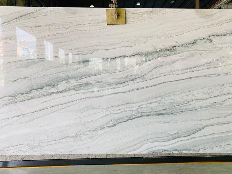 white pearl quartzite