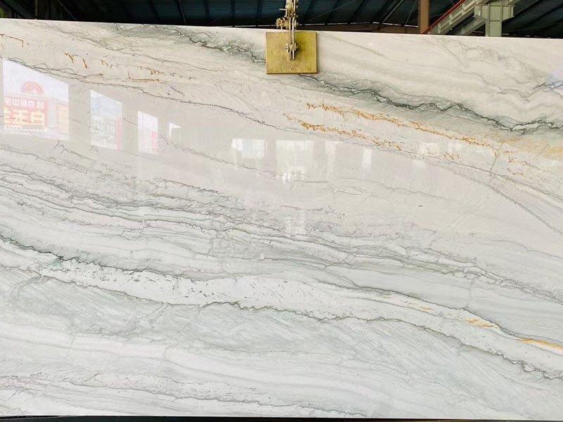 white pearl quartzite kitchen countertops tiles price